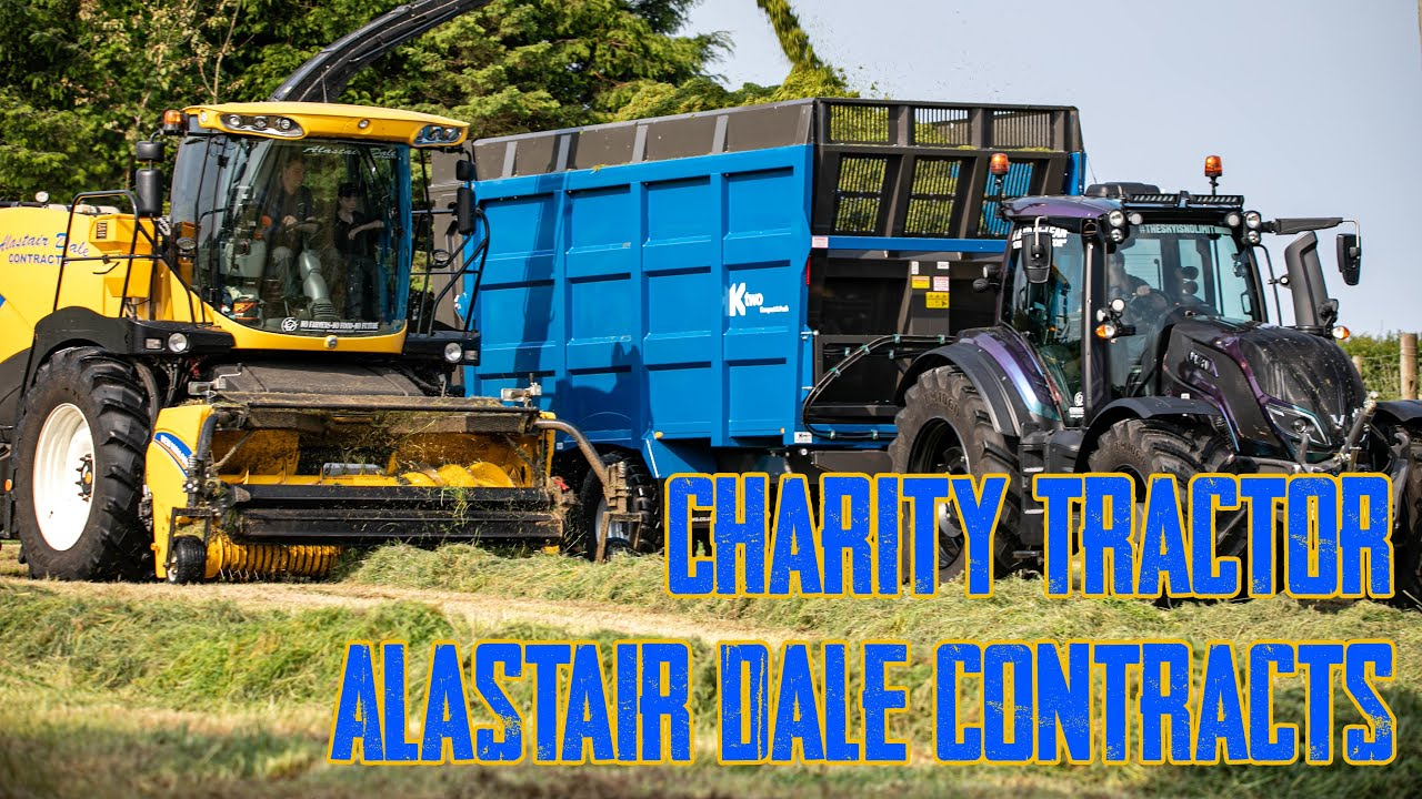 Charity Tractor - Alastair Dale Contracts