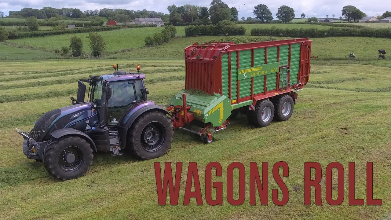 Will the tail be 'Wagon' the dog when we hook up the Strautmann to the Valtra??