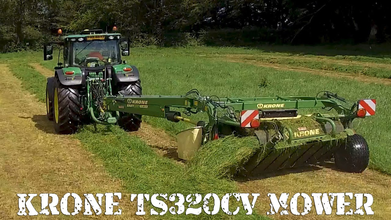 Our impressions of the Krone TS320CV