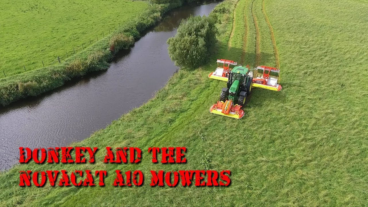 Donkey Chats with Pottinger Paul about the Novacat A10 Mowers
