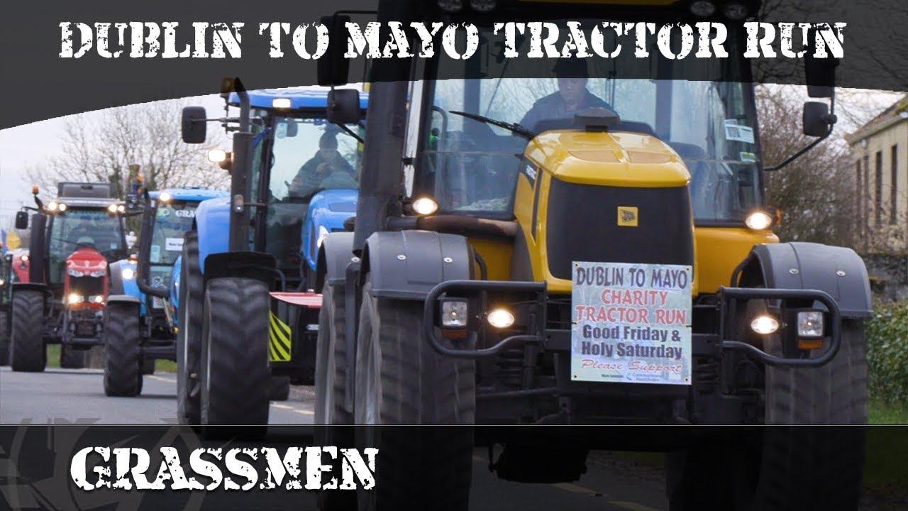 Dublin to Mayo Tractor Run