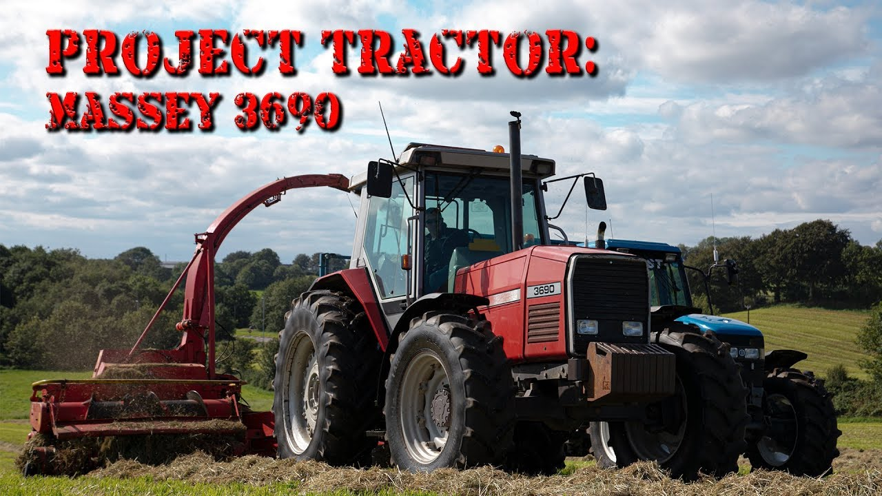 First Look At Our Latest Project Tractor - Massey Ferguson 3690