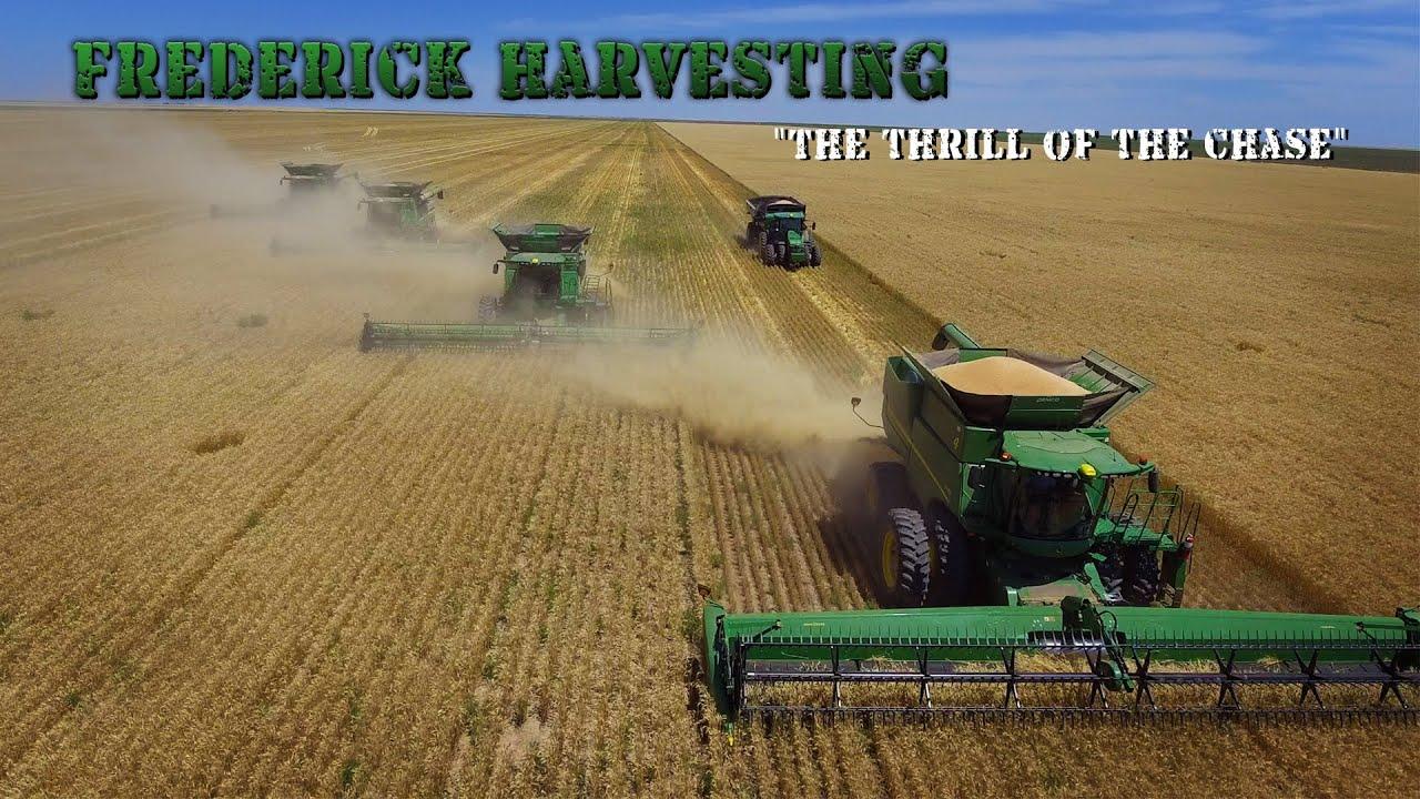Frederick Harvesting - Chasing the Dream
