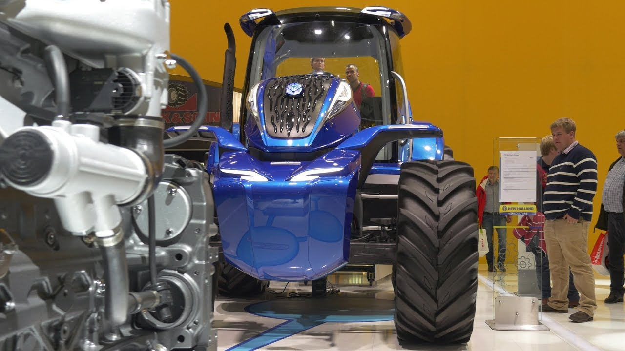 GRASSMEN TV - Agritechnica 2017 | New Holland New Products