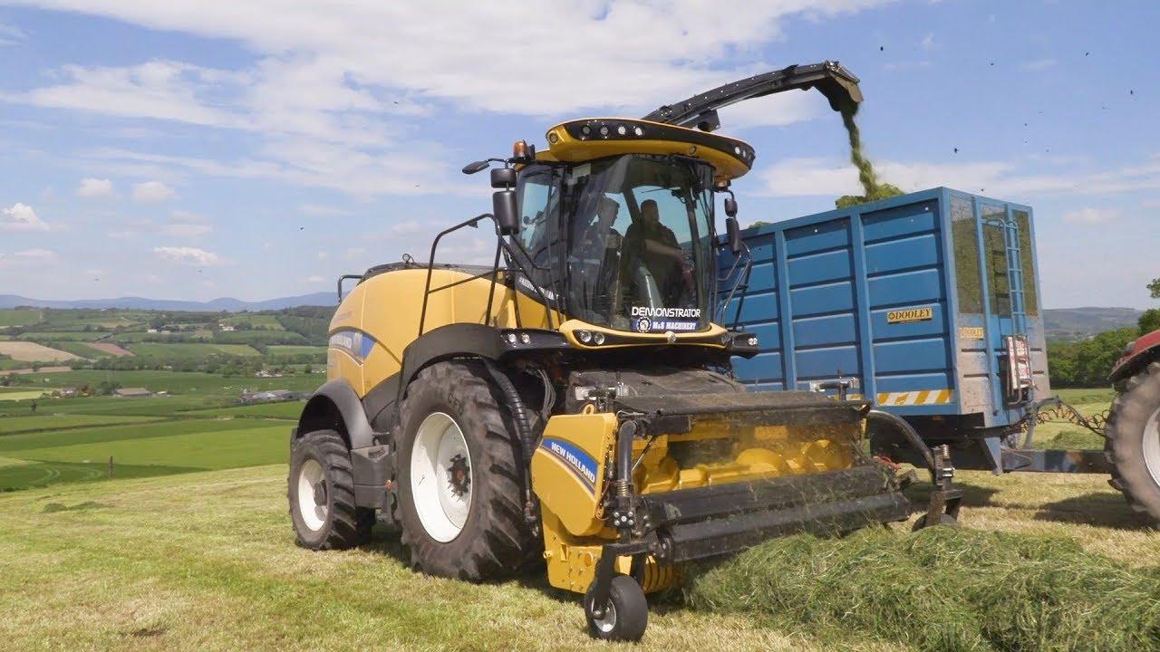 GRASSMEN TV - New Holland FR920 | Noonan Agri Contractors