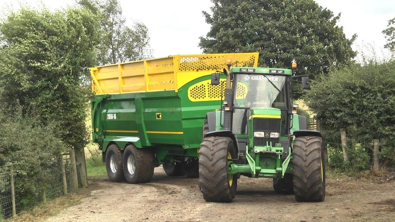 GRASSMEN TV - 'Rain & Grain' Machinery Lineup - Part 2: Tractors & Trailers