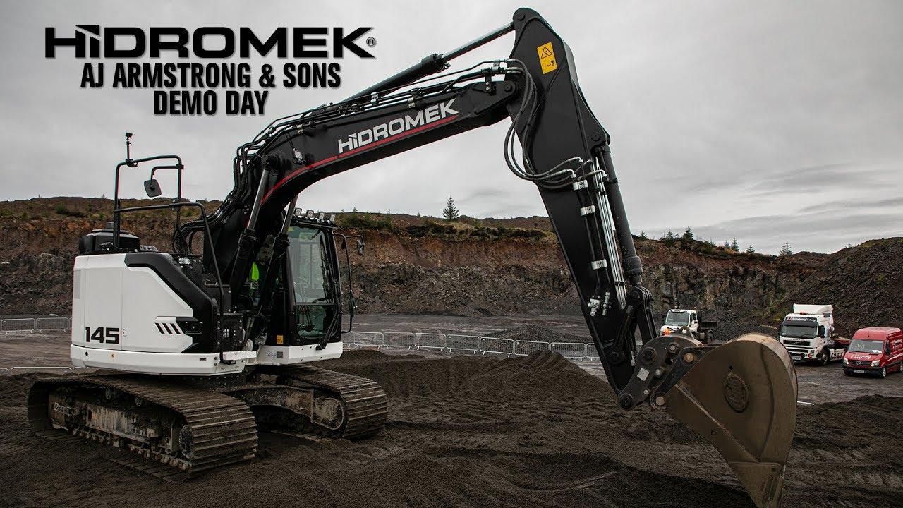 HIDROMEK Demo Day with AJ Armstrong & Sons