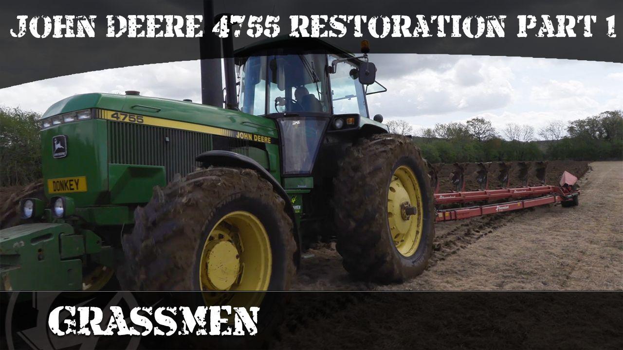 Project Tractor - John Deere 4755 Restoration | Part 1 - Mechanical
