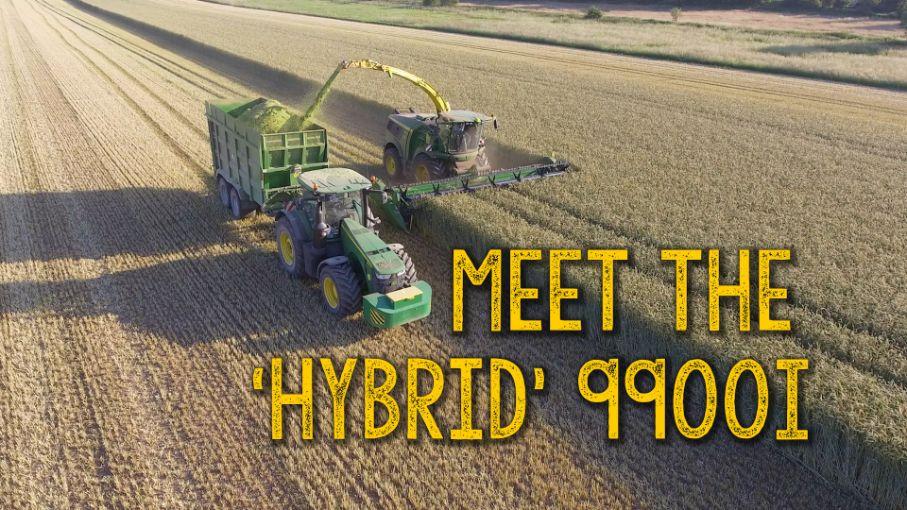 Forager or Combine? Meet the hybrid John Deere 99!