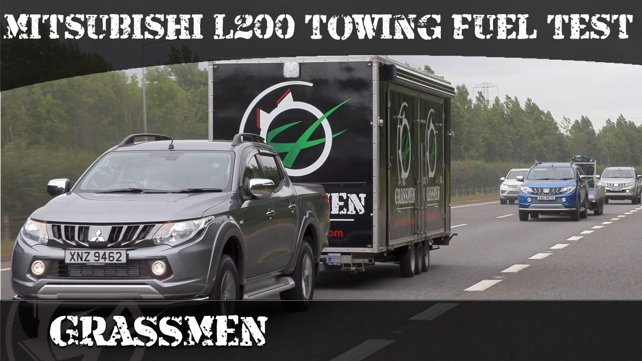 GRASSMEN TV - Mitsubishi L200 Towing Fuel Test with Donnelly Group