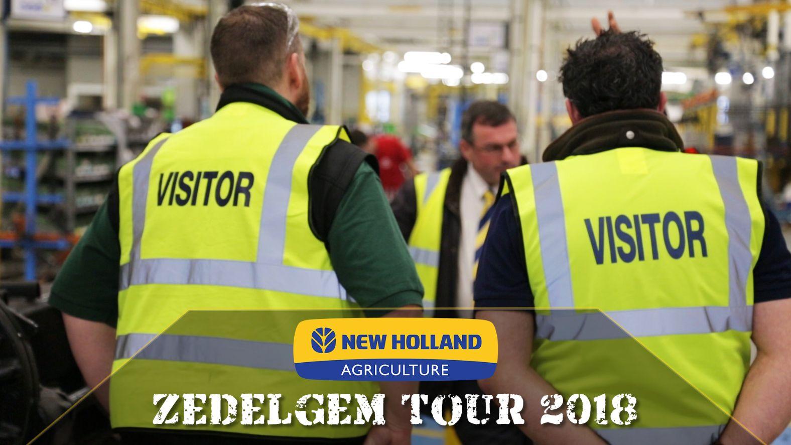 New Holland Zedelgem Factory Tour 2018