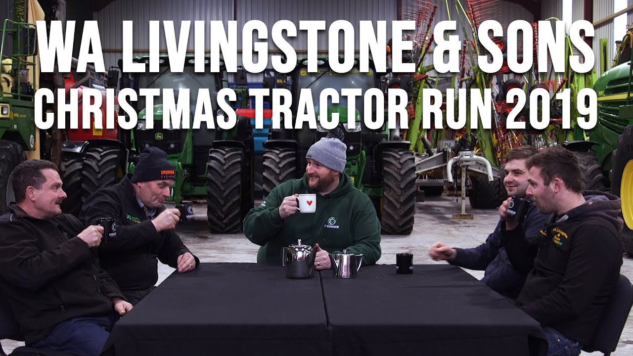 W.A. Livingstone and Sons Christmas Tractor Run 2019