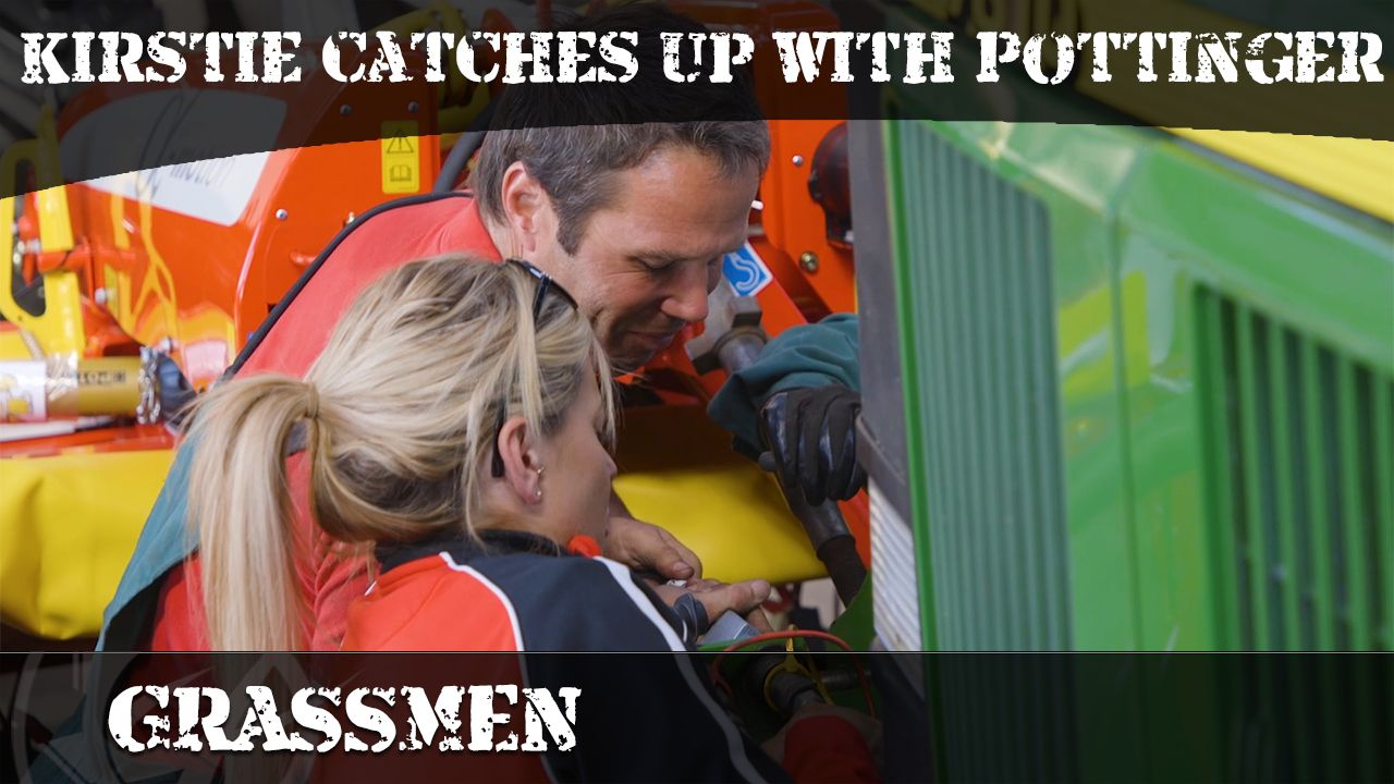 GRASSMEN TV - Kirstie catches up with Pottinger