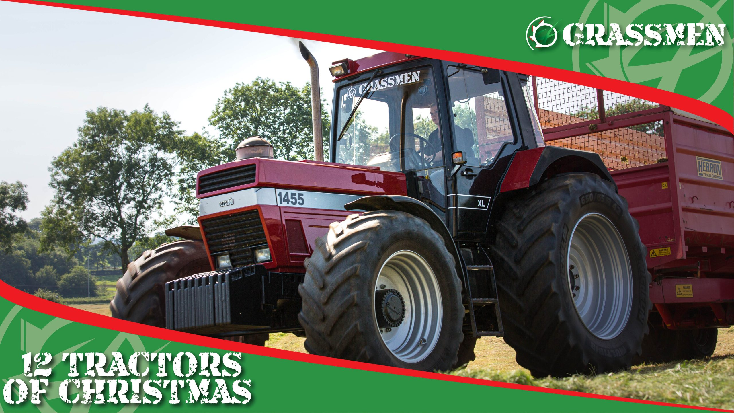 CASE 1455 XL - 12 Tractors of Christmas!