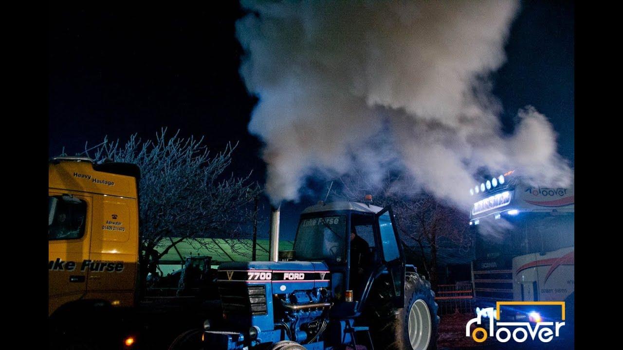 Luke Furse Cold Starts his V8 7700 at LAMMA 2013