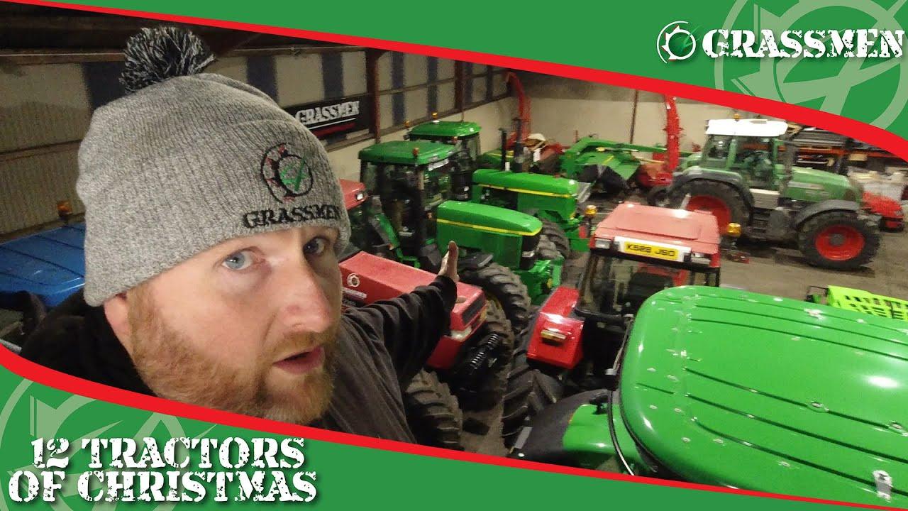 GRASSMEN'S 12 Tractors of Christmas!