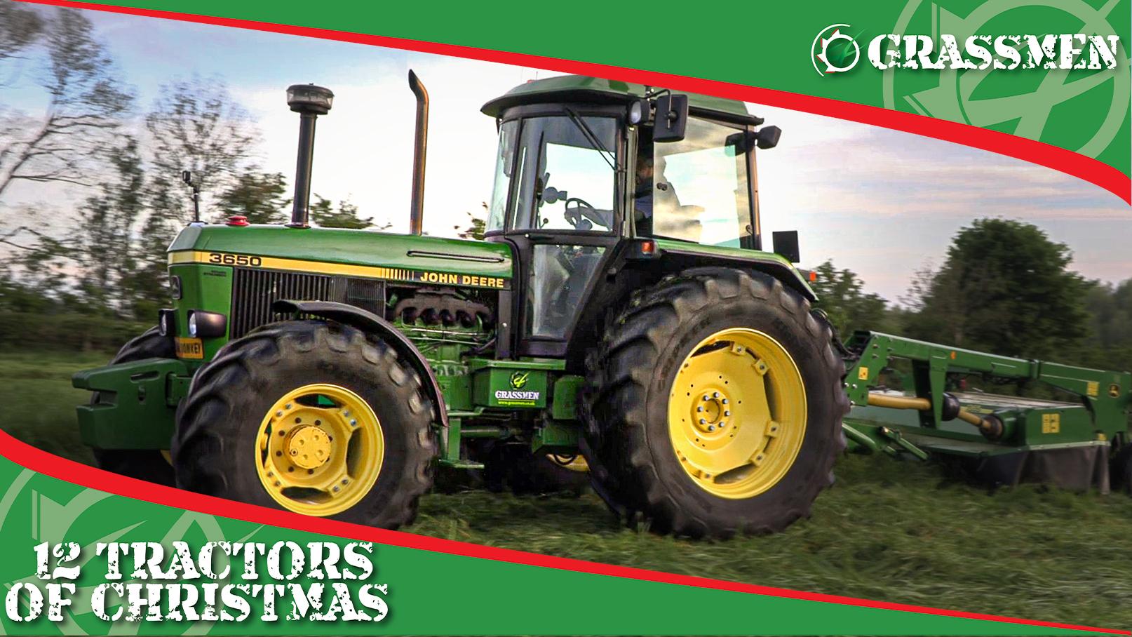 JOHN DEERE 3650 - 12 Tractors of Christmas