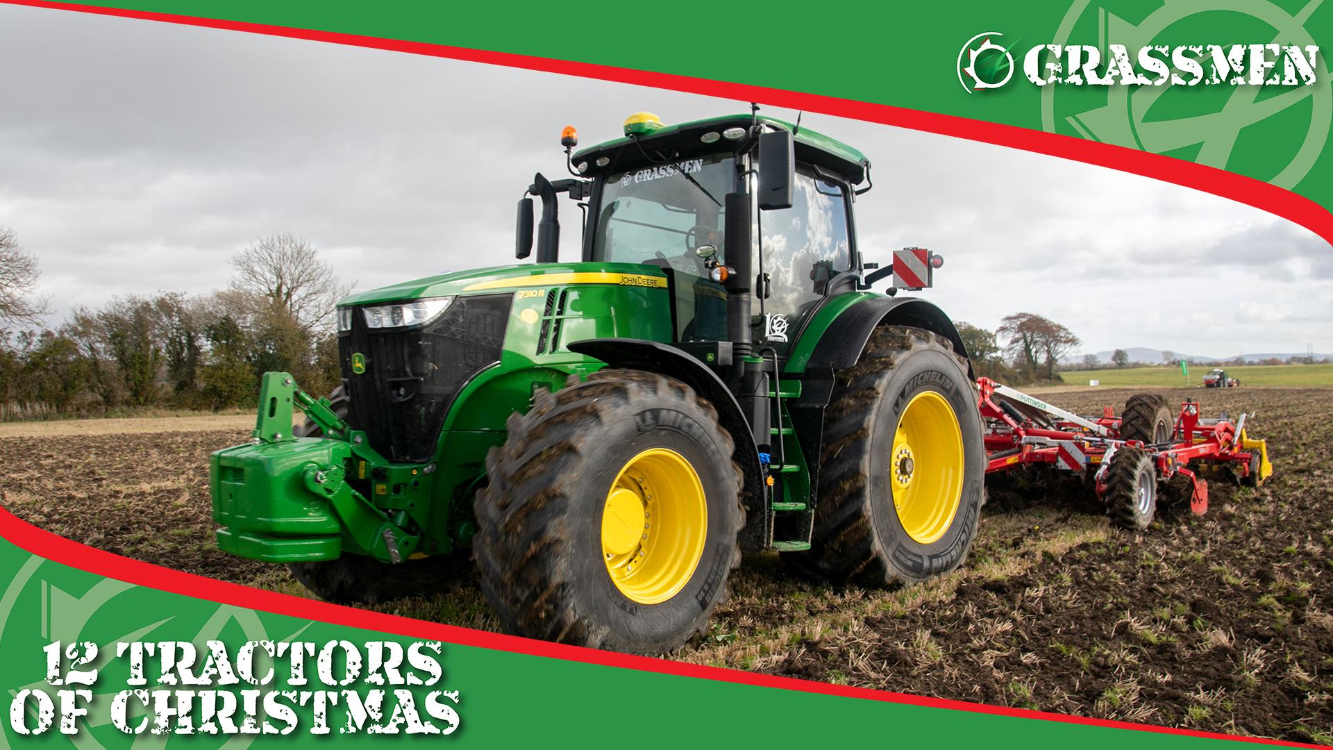 JOHN DEERE 7310R - 12 Tractors of Christmas
