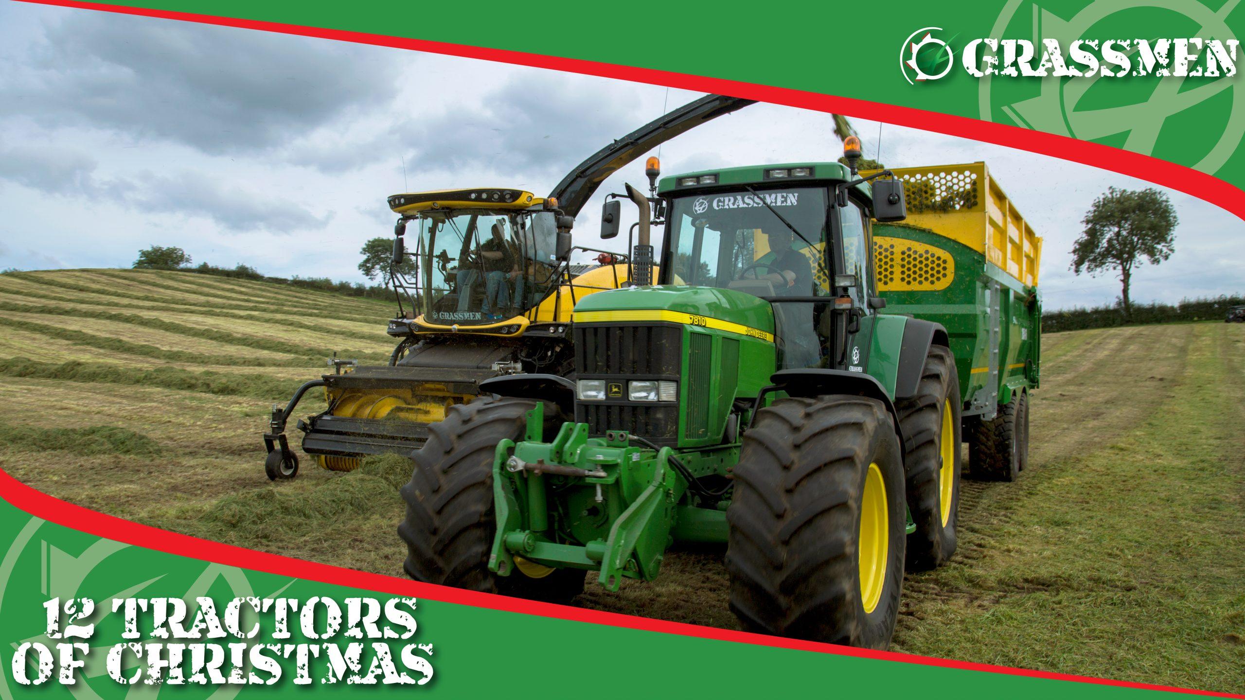 JOHN DEERE 7810 - 12 Tractors of Christmas