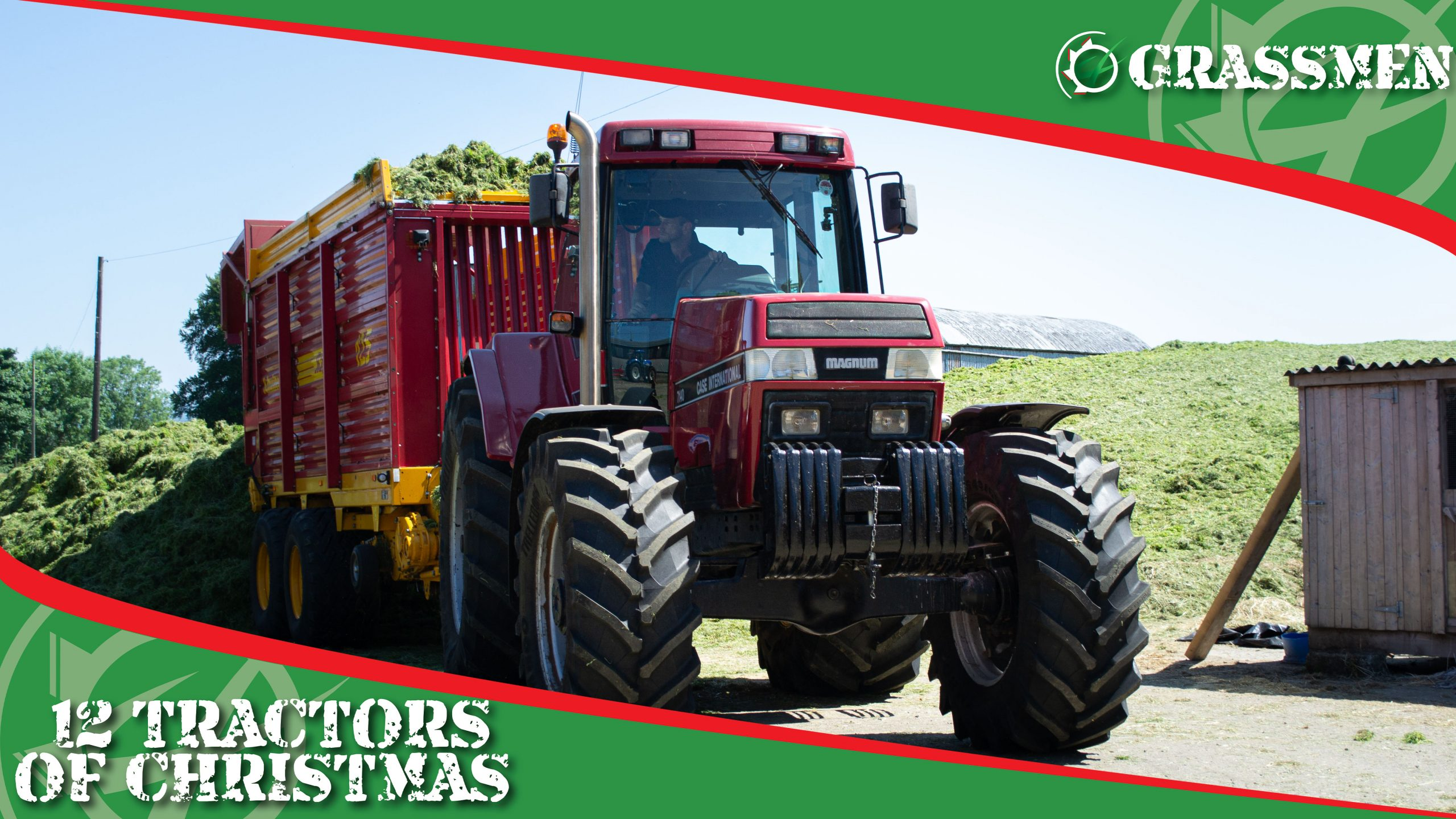 CASE 7140 MAGNUM - 12 Tractors of Christmas