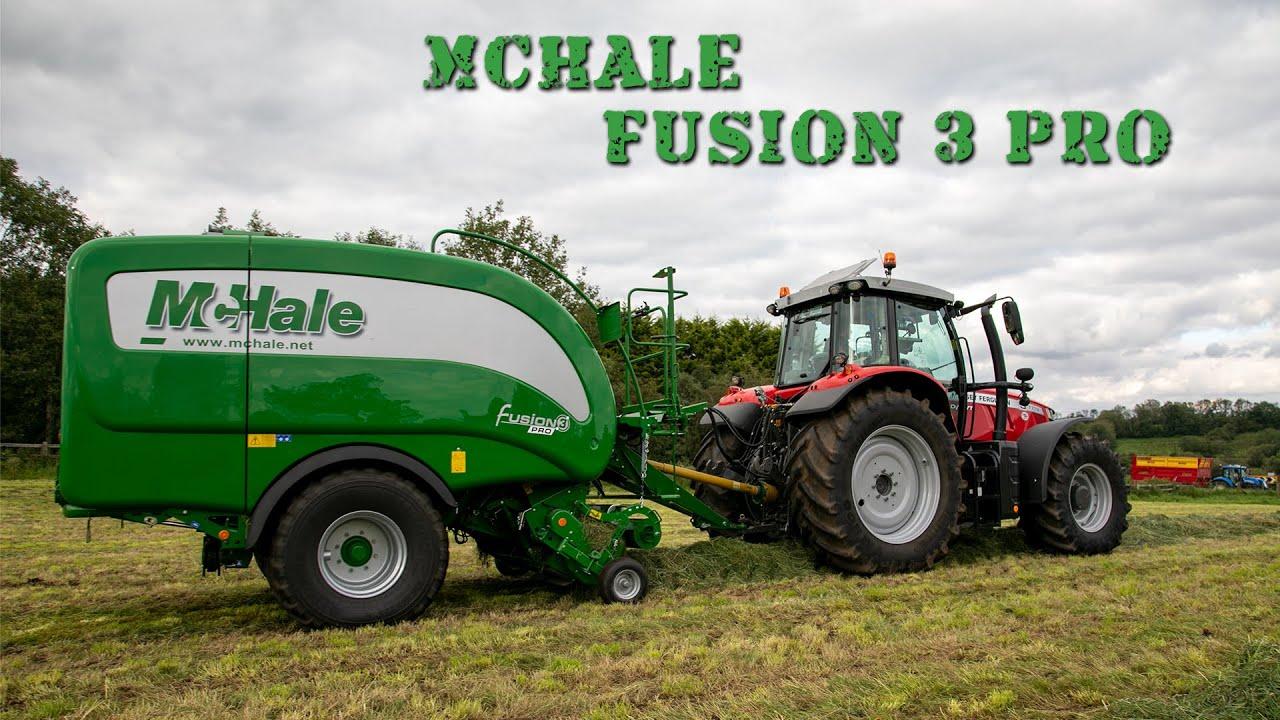 McHale Fusion 3 Pro at GRASSMEN HQ!