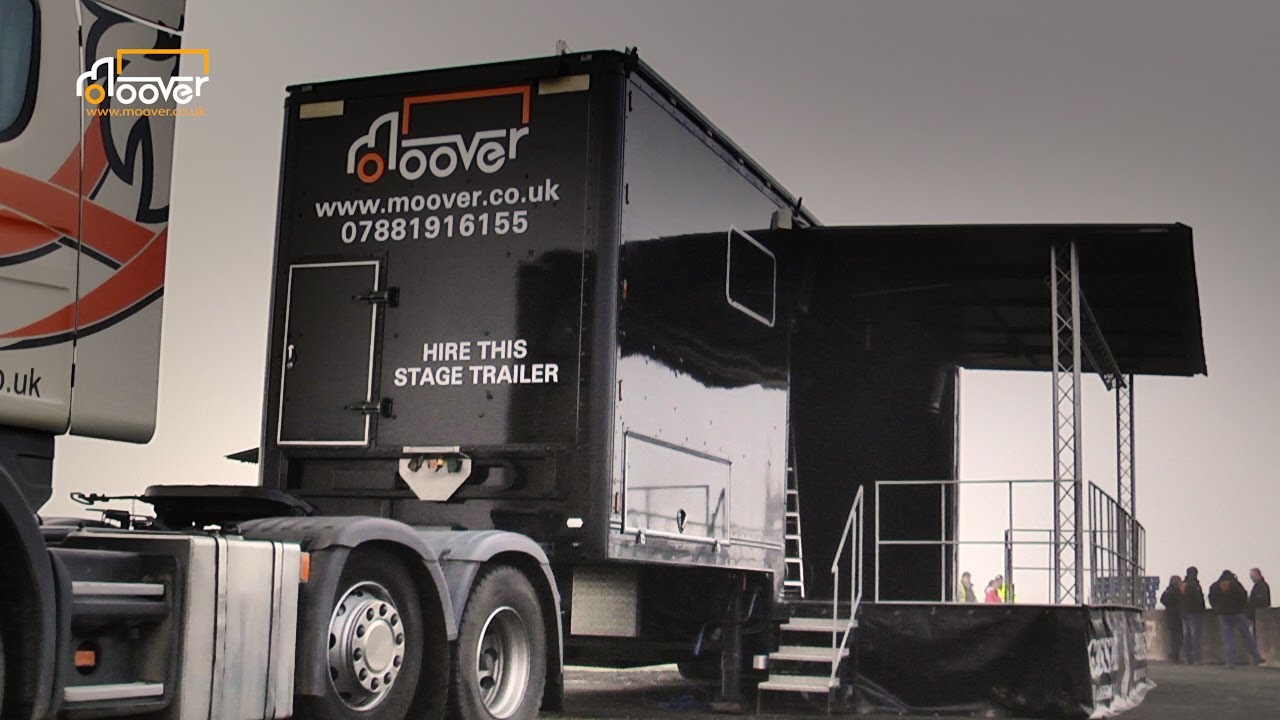 Moover - Stage Trailer For Hire
