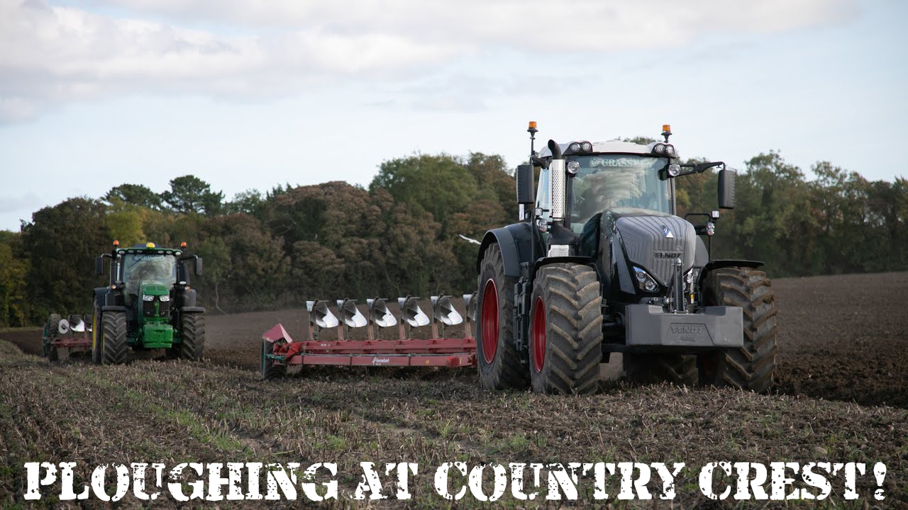 Ploughing at Country Crest!