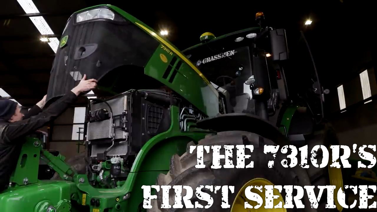 The 7310R's First Service!