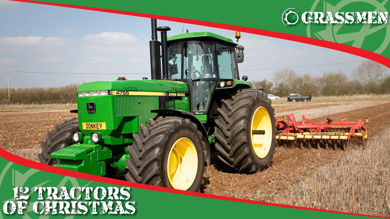 JOHN DEERE 4755 - 12 Tractors of Christmas