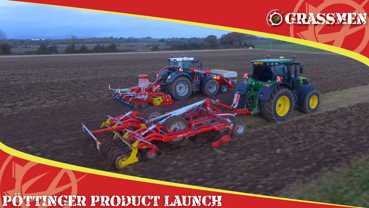 Some new gear from Pottinger to play with!