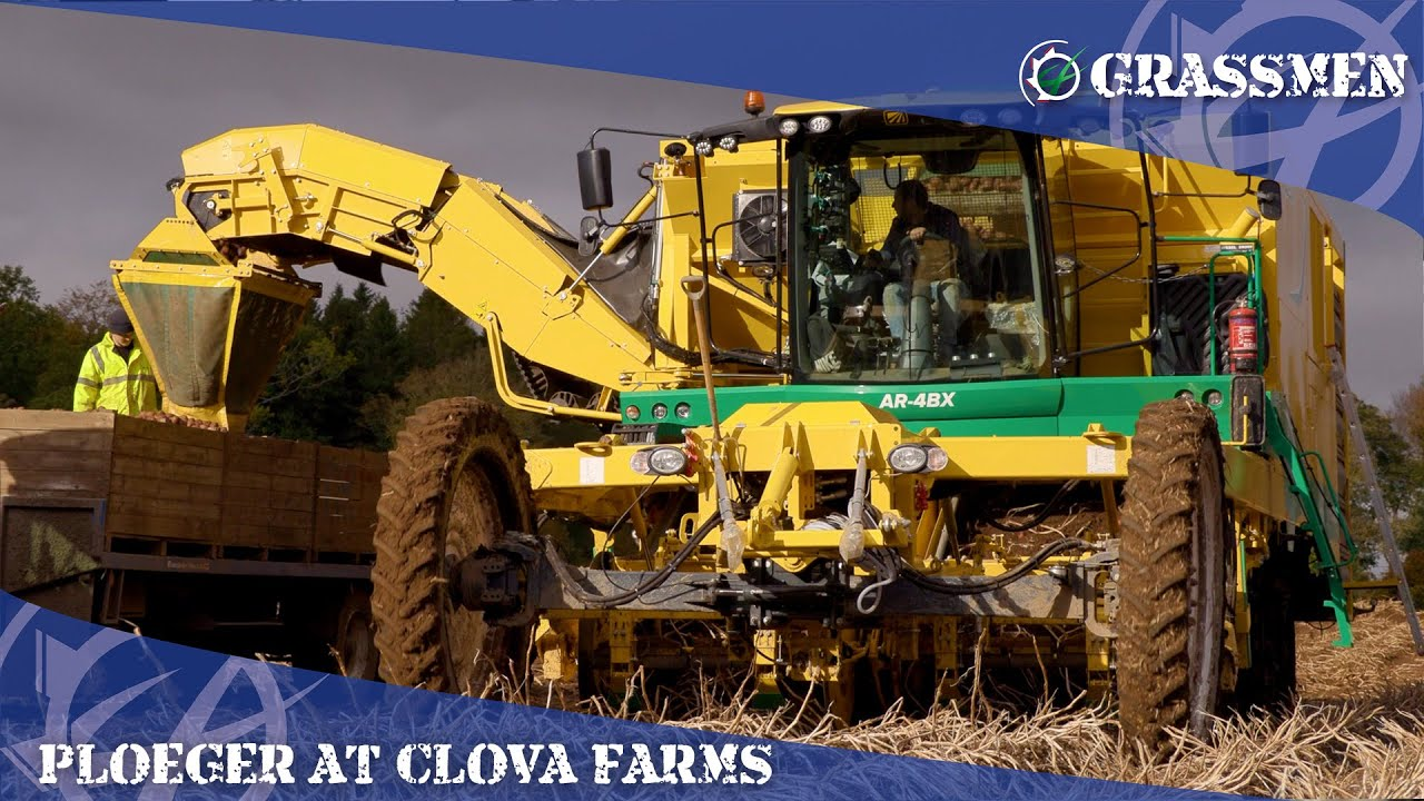 A look at the Ploeger Potato Harvester