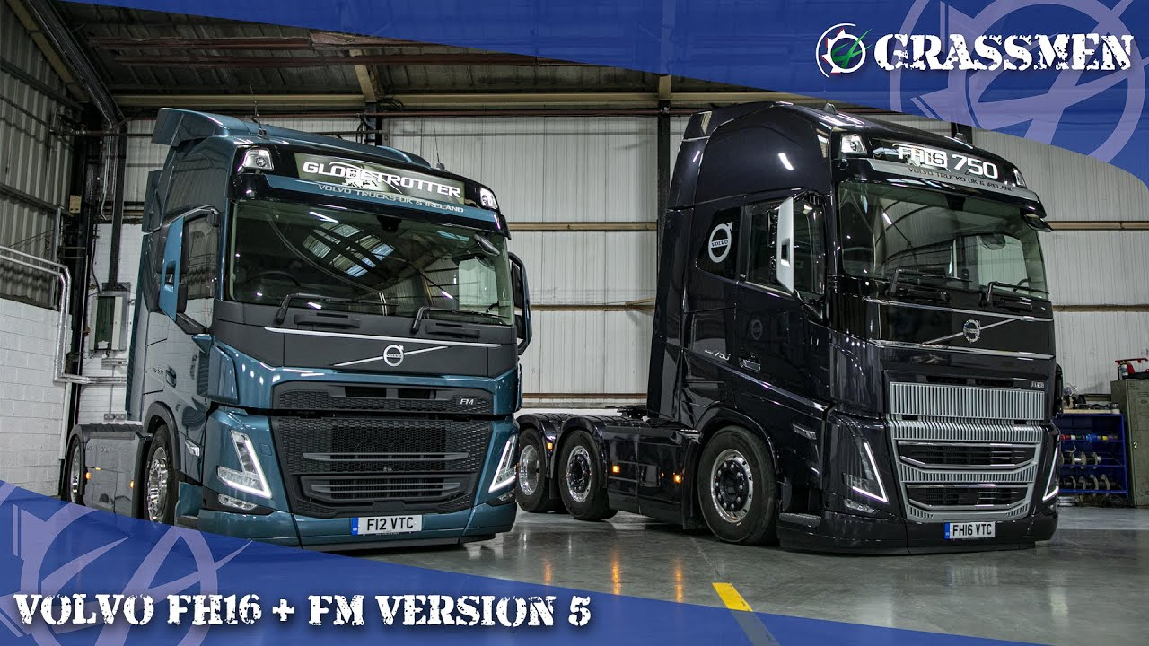 A Look at the New Volvo FH16 and FM Version 5!