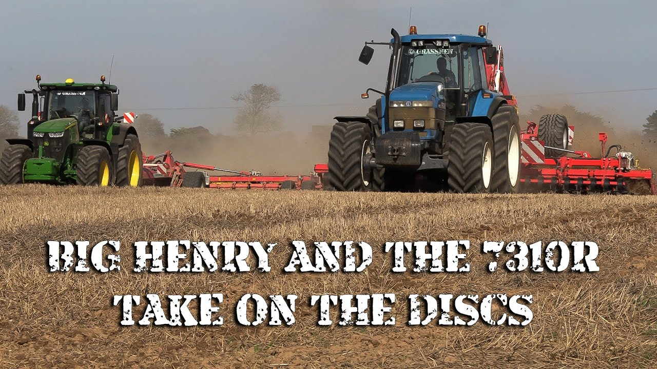 Big Henry and the 7310R take on the discs!