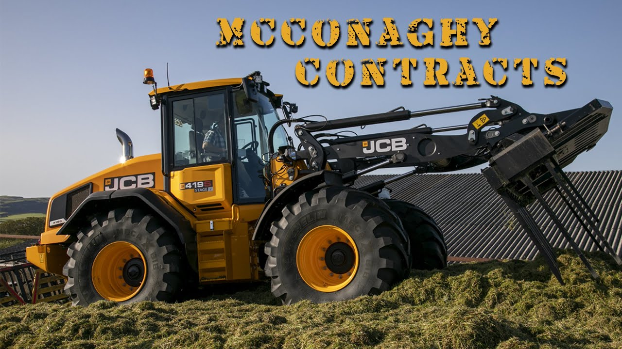McConaghy Contracts Test the JCB 419s Stage V!