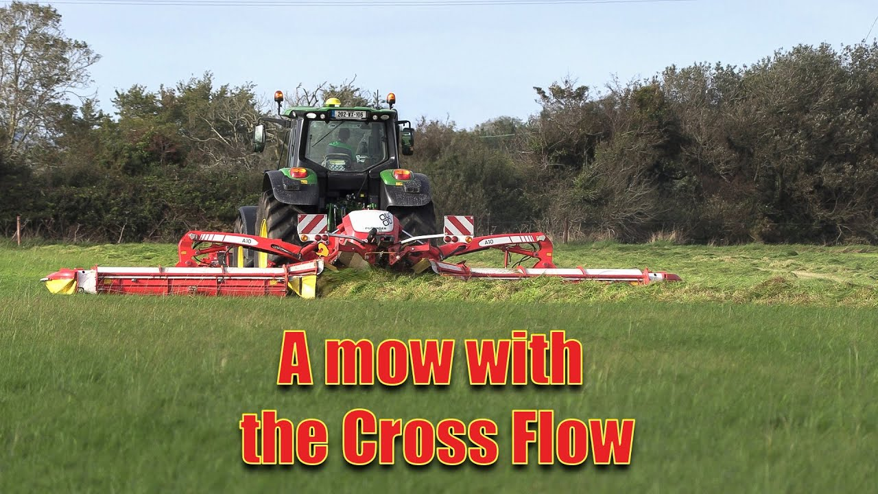 Chatting to Ben - a mow with the 'Cross Flow'