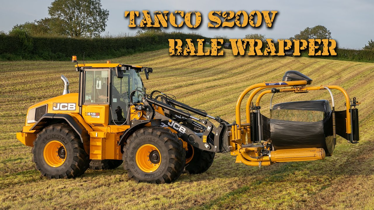Tanco S200v Bale Wrapper!