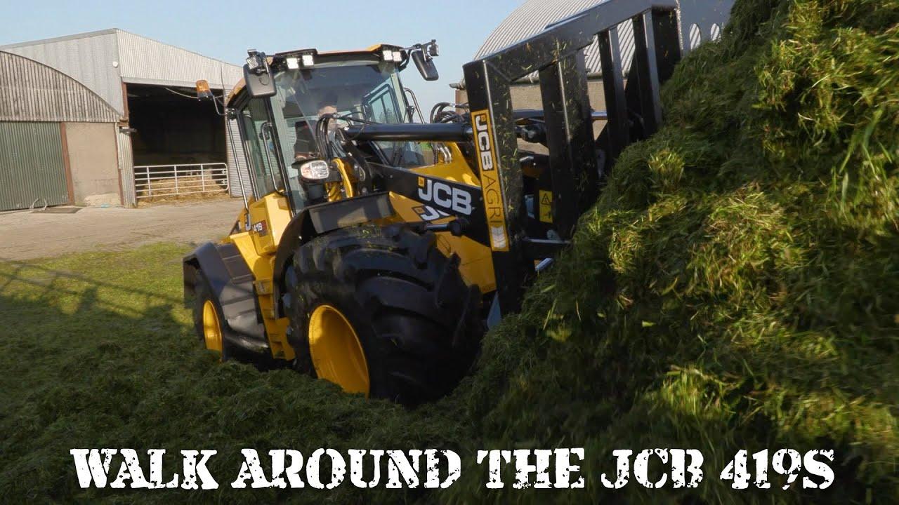 A walkaround the JCB 419S