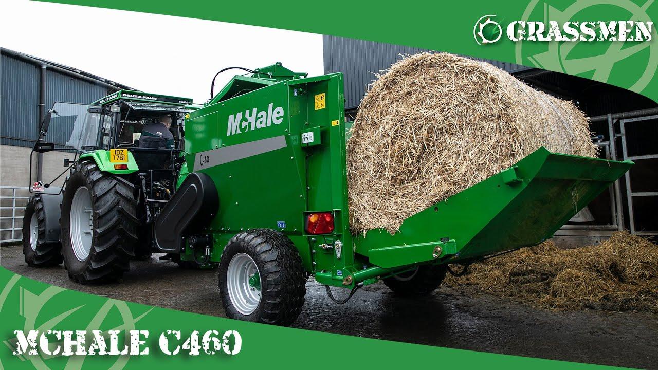The McHale C460 Silage Feeder & Straw Blower