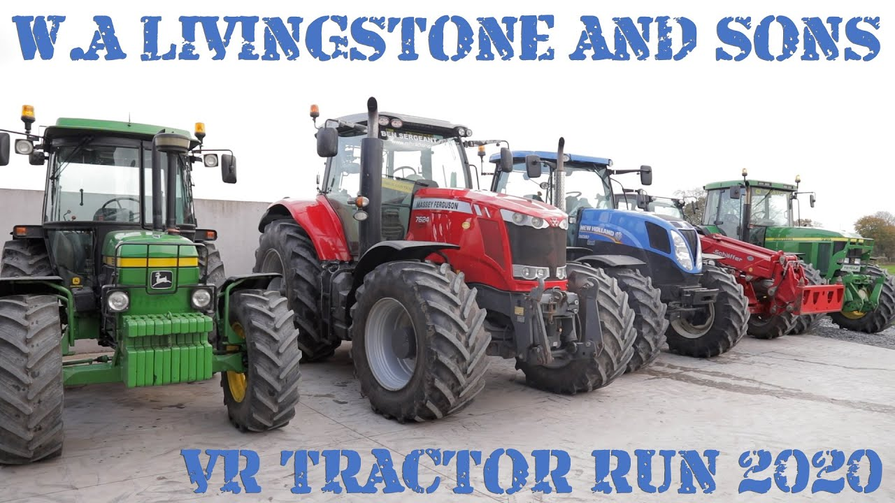 W.A. Livingstone and Sons Virtual Christmas Tractor Run