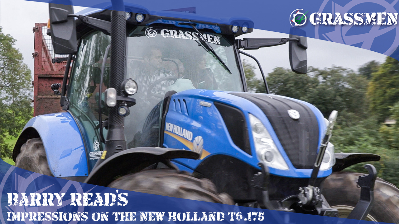 Kirstie finds out Barry Read's Impressions on the New Holland T6.175