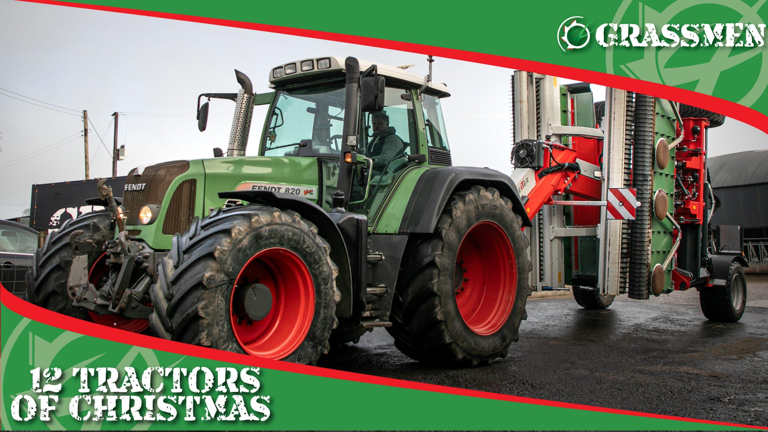 FENDT 820 - 12 Tractors of Christmas