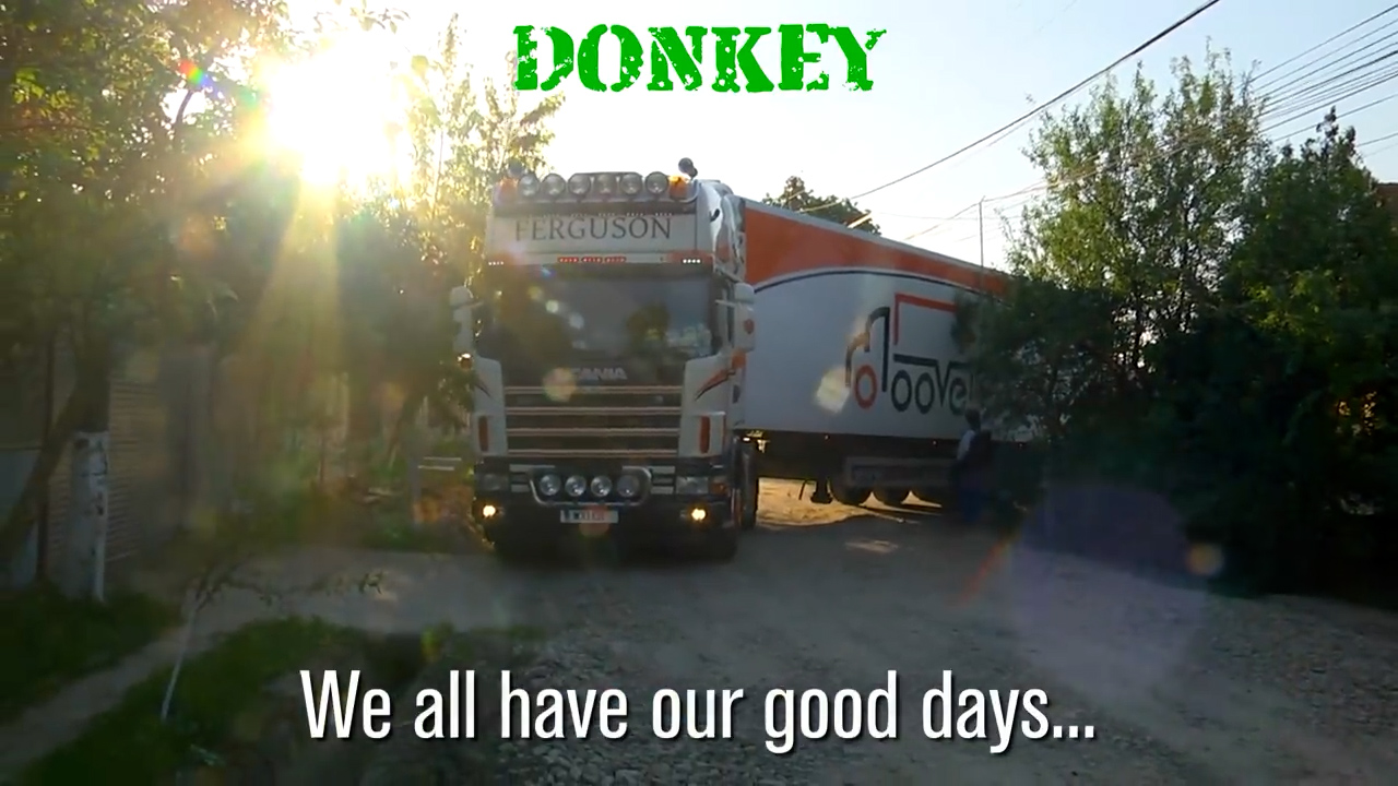 Good Days & Bad Days in the Lorry