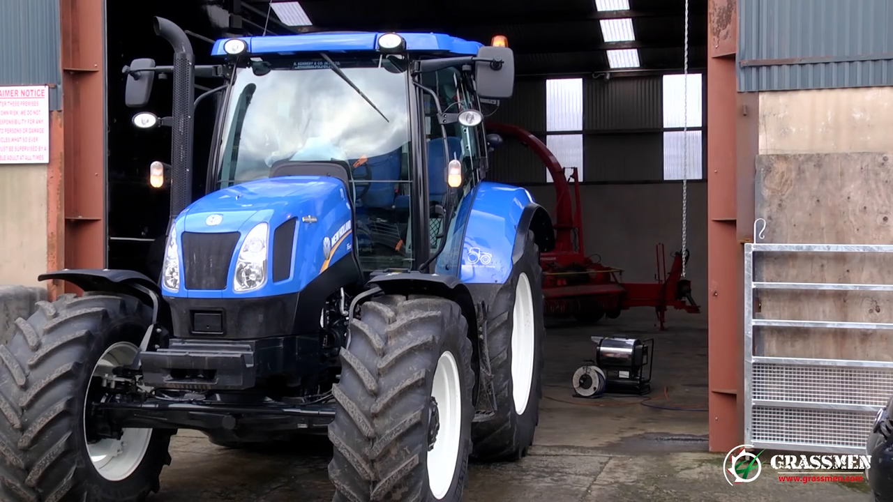 New Holland T6.160 Meets the Dyno