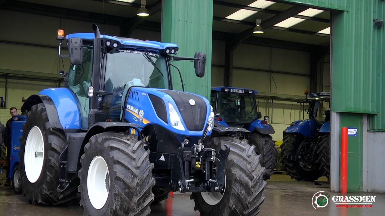 New Holland T7 245 Meets the Dyno