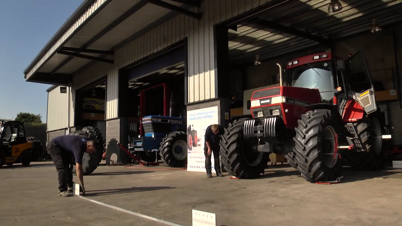JB Tyres - keeping the wheels of agriculture turning