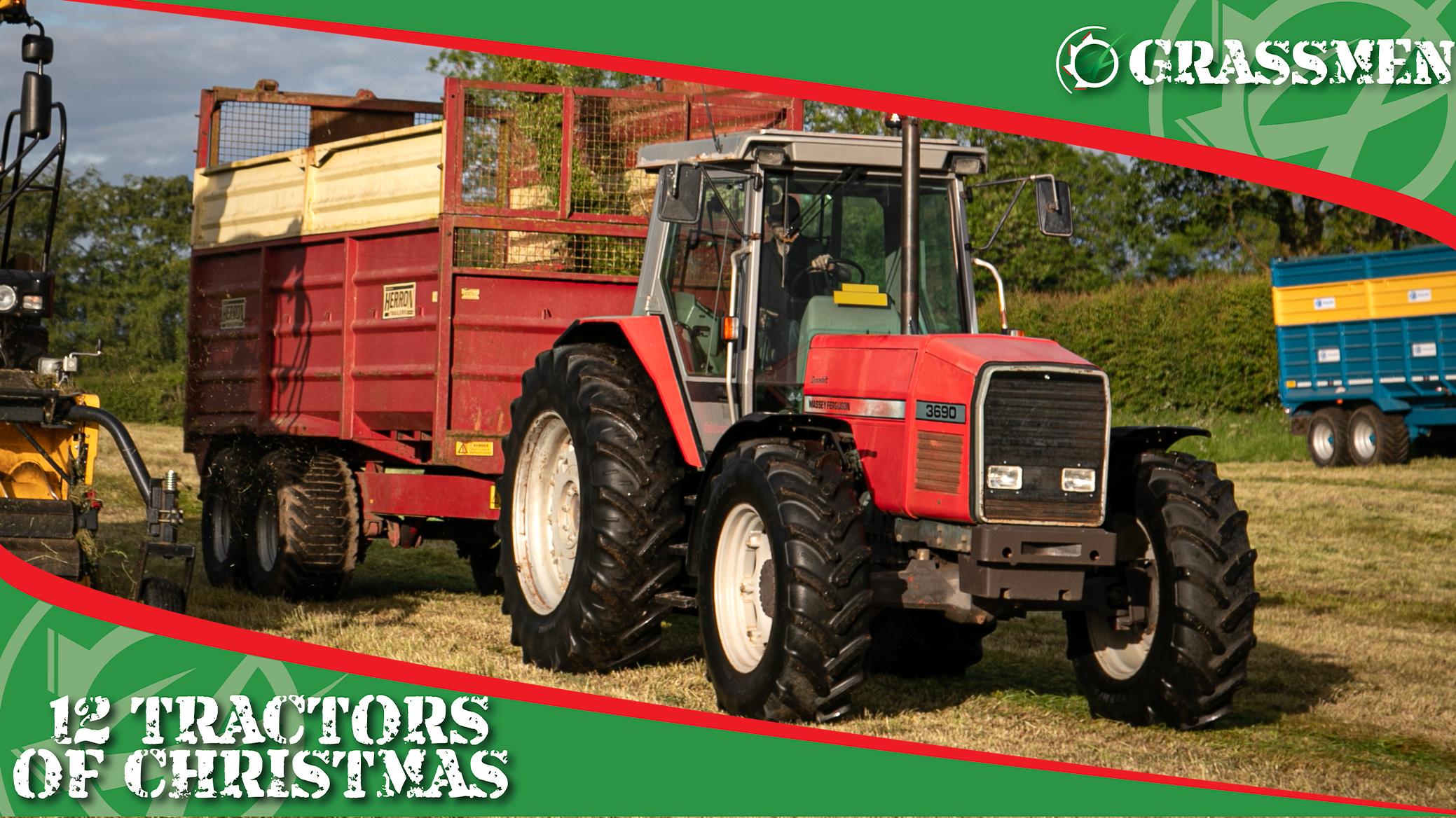 MASSEY FERGUSON 3690 - 12 Tractors of Christmas