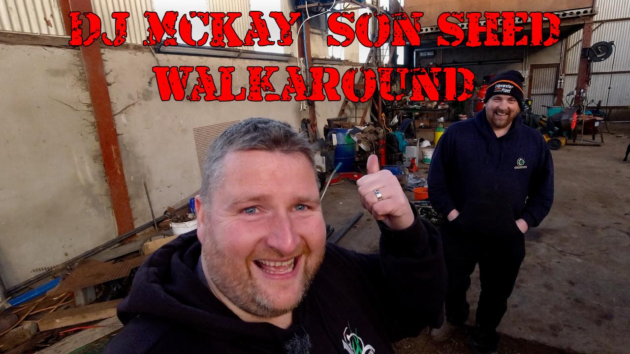 DonkeyCam - DJ McKay & Son Shed Walkaround