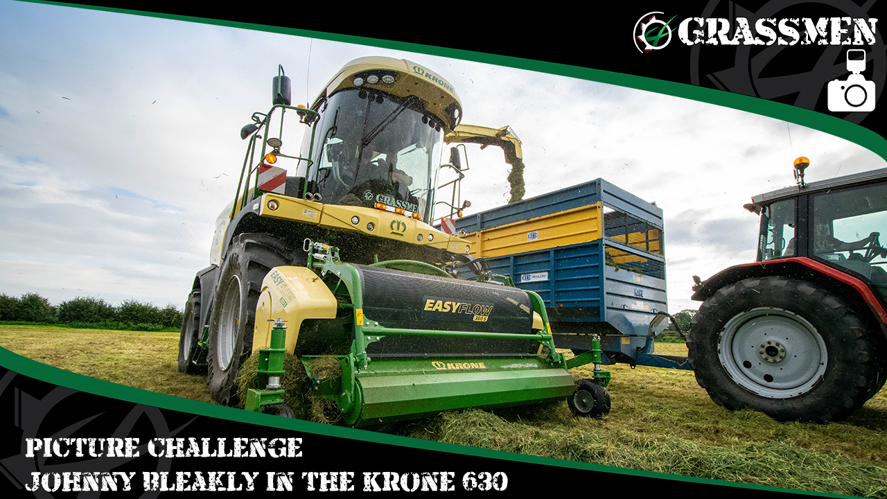Picture Challenge Johnny Bleakly in the Krone 630