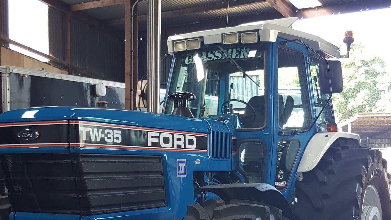 Saying Goodbye to the Ford TW-35