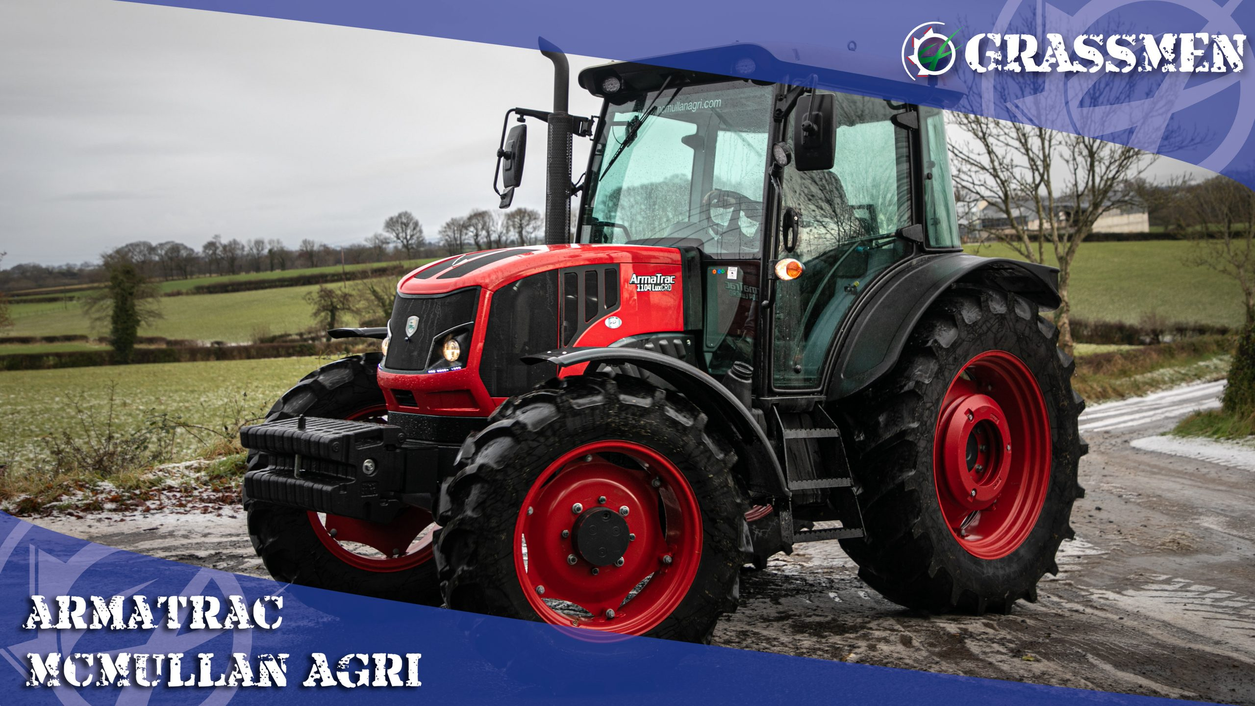 Demoing an ArmaTrac with McMullan Agri